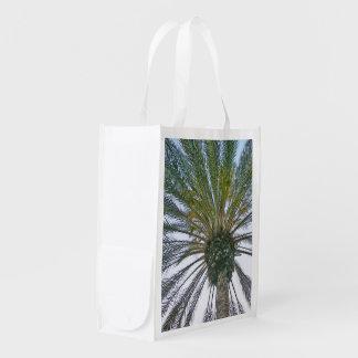 California Palm Tree Reusable Grocery Bag