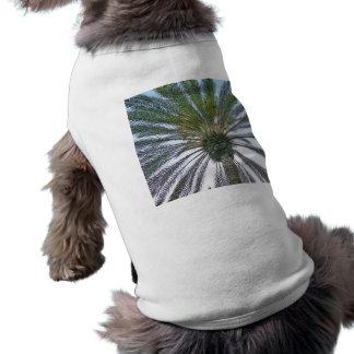 California Palm Tree Sleeveless Dog Shirt