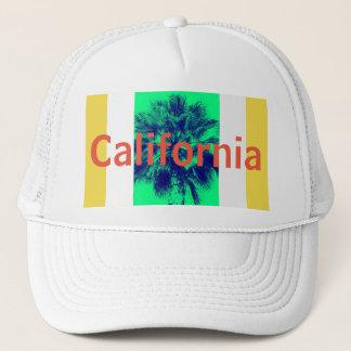 California Palm Tree Trucker Hat