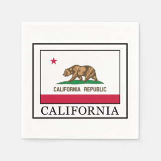 California Paper Serviettes