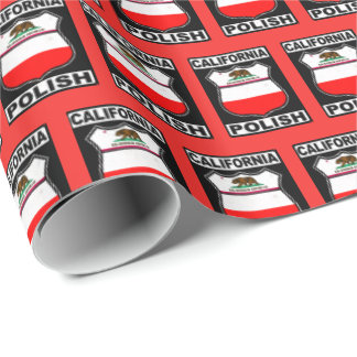 California Polish American Gift Wrap