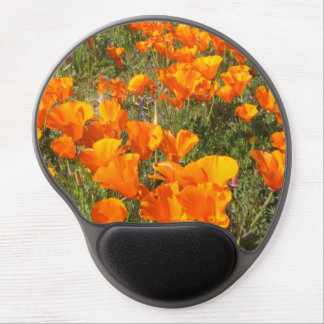 California Poppies Gel Mouse Pad