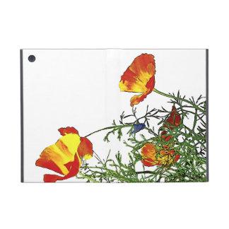 California poppies iPad mini cases