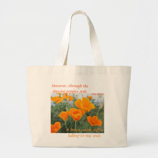 California Poppy Canvas Bag