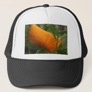 California Poppy bud Trucker Hat
