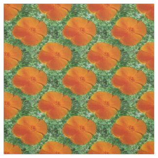California Poppy Fabric