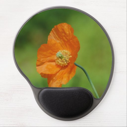 California Poppy Gel Mouse Pads