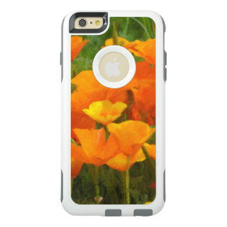 california poppy impasto OtterBox iPhone 6/6s plus case