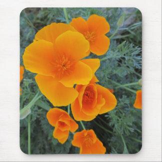 California Poppy Mouse Pad