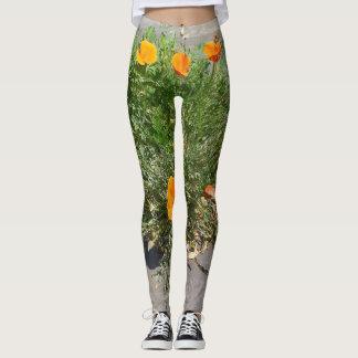 California Poppy on your Leggings