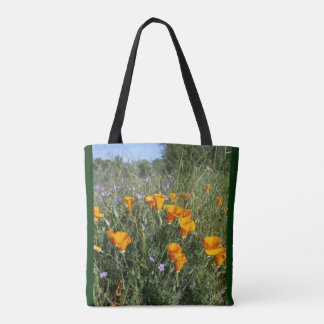 California Poppy Tote