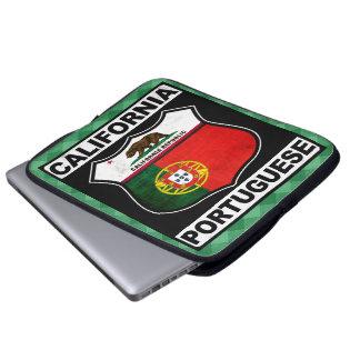 California Portuguese American Laptop Cover