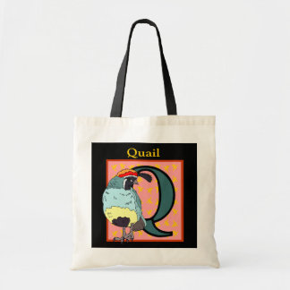 California Quail Bird Tote Bag