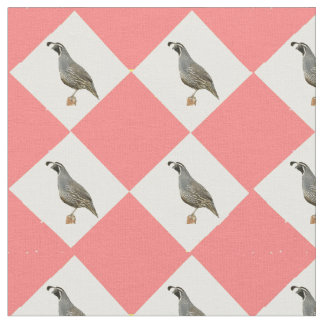 California Quail Fabric