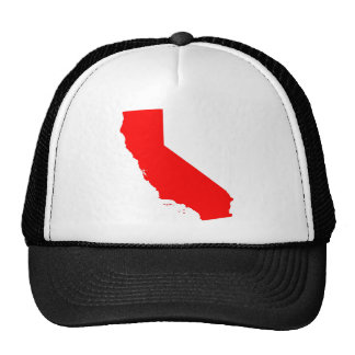 California Red State Hat