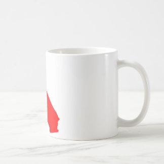 California Red State Mug