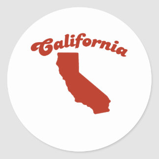 CALIFORNIA Red State Stickers