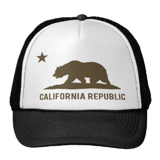 California Republic - Basic - Brown Trucker Hat