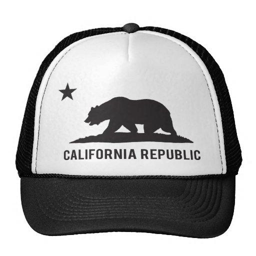 California Republic - Basic Mesh Hats