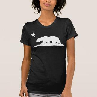 California Republic Bear - Black Tee Shirt