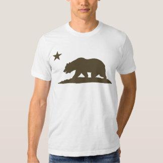 California Republic Bear - Brown T-Shirt
