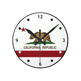 California Republic Bear Clock