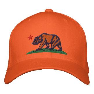 CALIFORNIA REPUBLIC BEAR Embroidered Cap Baseball Cap