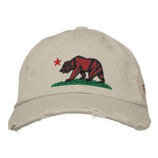 CALIFORNIA REPUBLIC BEAR Essentials Cap Embroidered Hat
