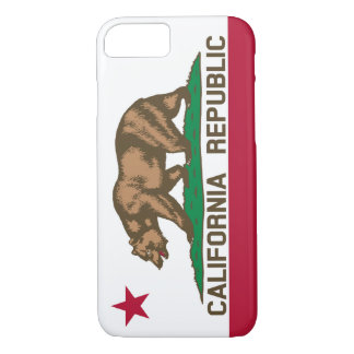 California Republic Bear Flag iPhone 7 Case