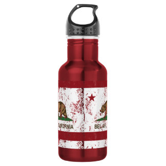 California Republic Bel Air Flag 532 Ml Water Bottle