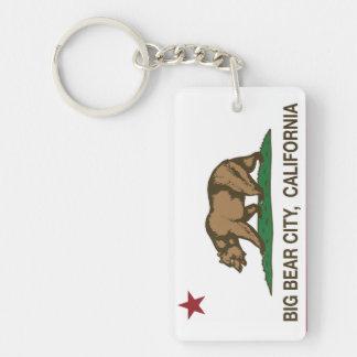 California Republic Big Bear City Key Ring