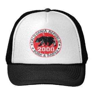 california republic born raised 2000 cap