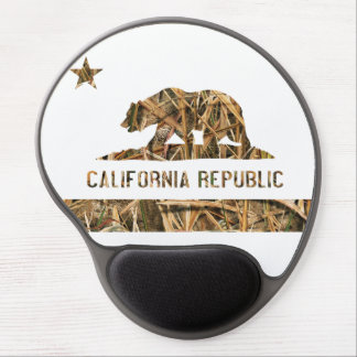 California Republic Camo 2 Gel Mouse Pad