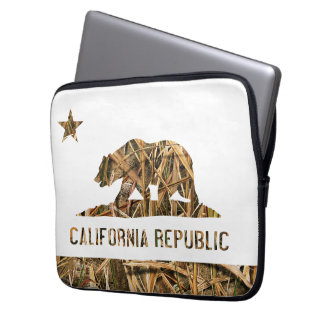 California Republic Camo 2 Laptop Sleeve