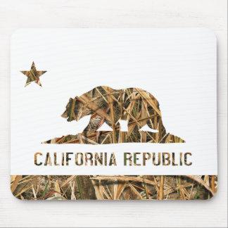 California Republic Camo 2 Mouse Pad