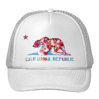California Republic Cherry Blossom Hat