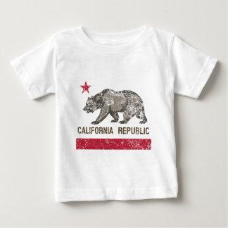 california republic distressed baby T-Shirt