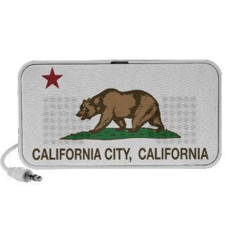 California Republic Flag California City Mp3 Speakers