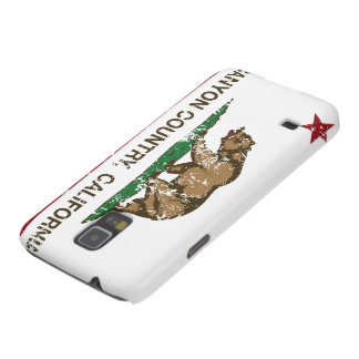 California Republic Flag Canyon Country Cases For Galaxy S5