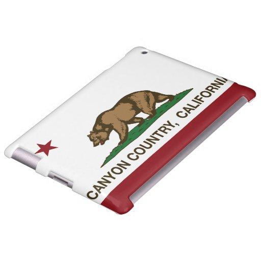 California Republic Flag Canyon Country
