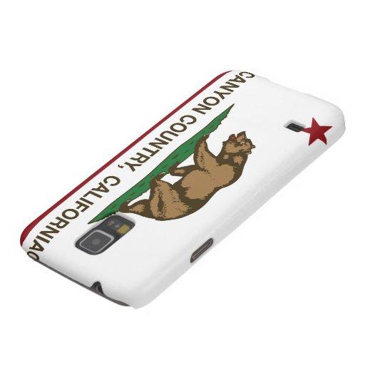 California Republic Flag Canyon Country Galaxy Nexus Covers
