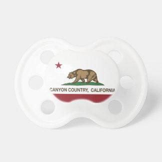 California Republic Flag Canyon Country Pacifier