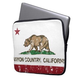 California Republic Flag Canyon Country Laptop Computer Sleeve
