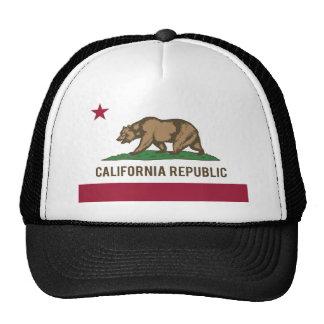 California Republic Flag - Color Hats