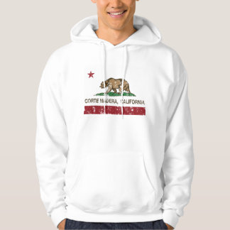 California Republic Flag Corte Madera Hooded Sweatshirt