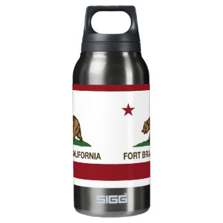 California Republic Flag Fort Bragg Insulated Water Bottle