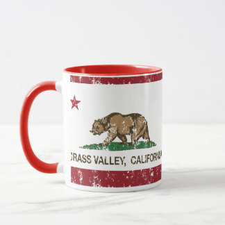 California Republic Flag Grass Valley Mug