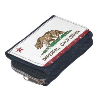 California Republic Flag Imperial Wallet