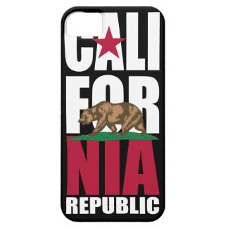 California Republic Flag iPhone 5 Case