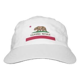 California Republic flag knit and woven sports hat